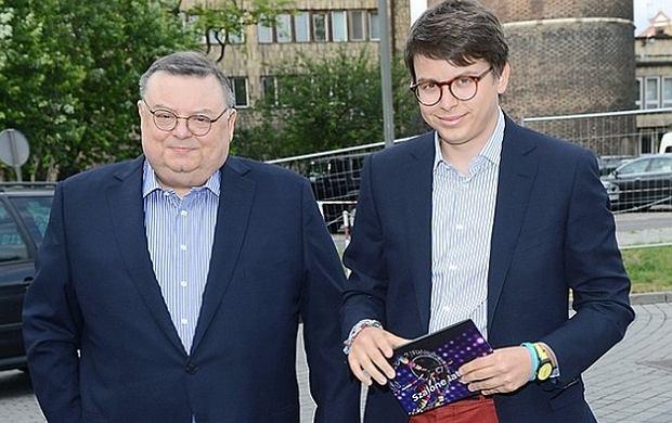 Wojciech Mann i Marcin Mann.