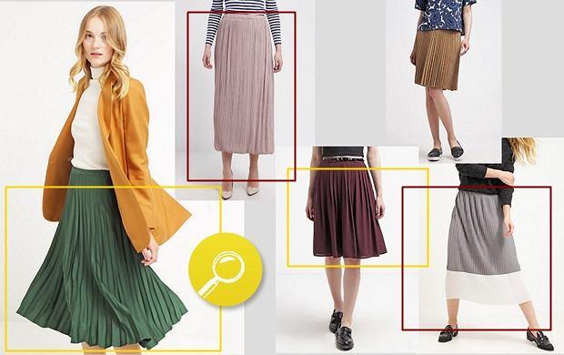 Plisowane sukienki i spódnice - przegląd