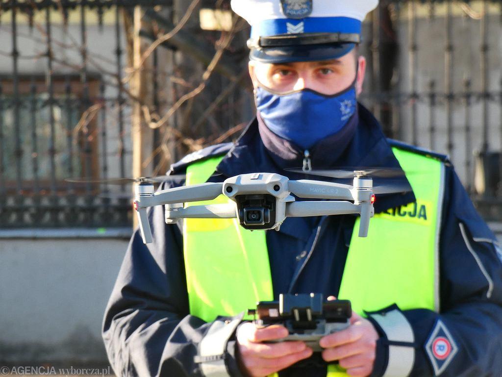 Policyjne drony