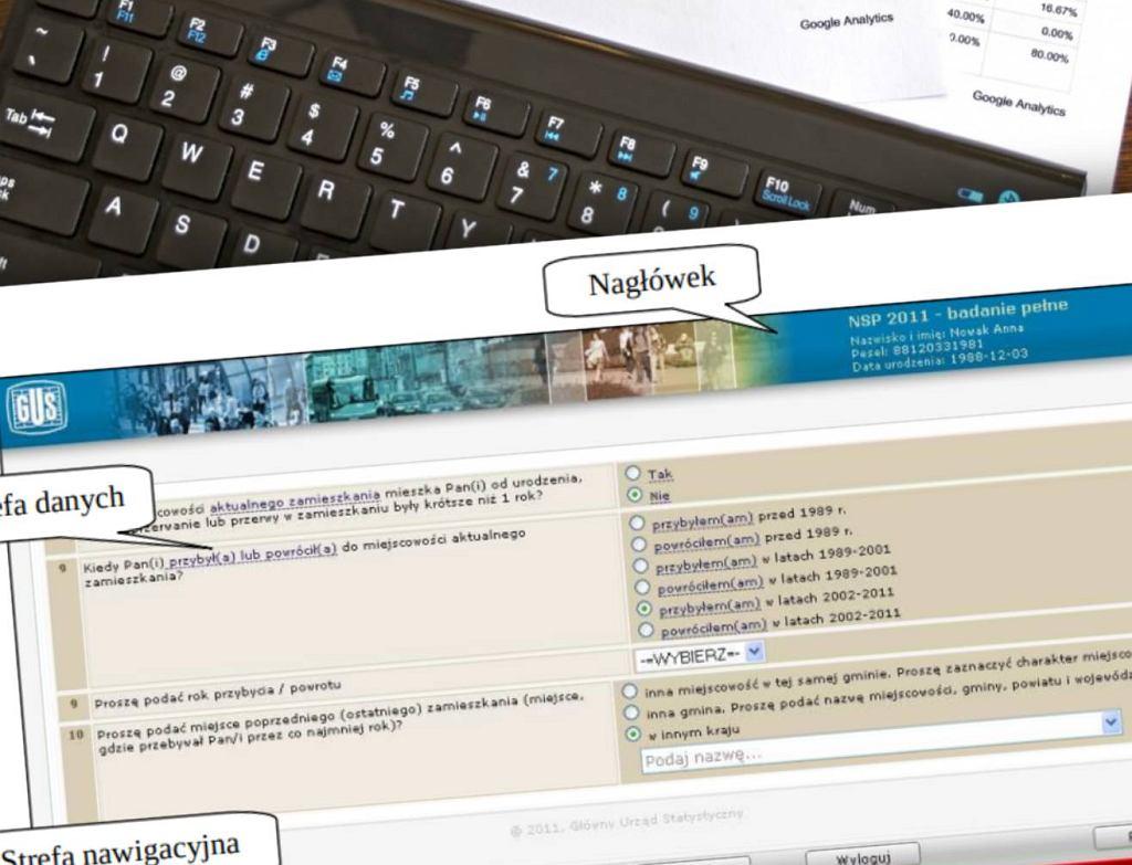 Spis powszechny zostanie przeprowadzony w 2021 roku za pomocą aplikacji internetowej