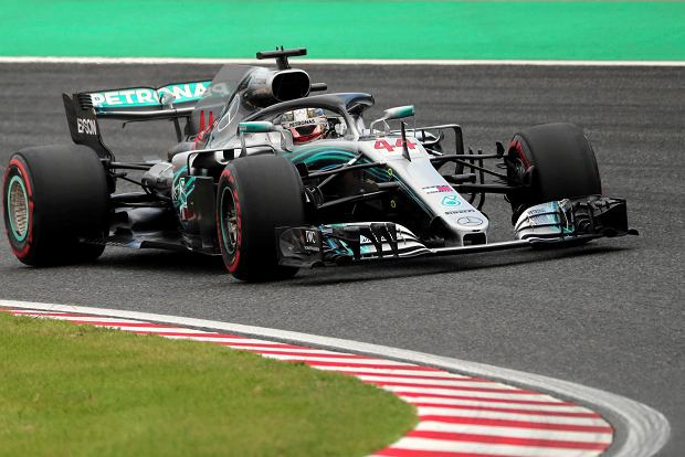 F1. GP Japonii. Hamilton z pole position, kolejna wpadka Ferrari, szalone kwalifikacje na Suzuce