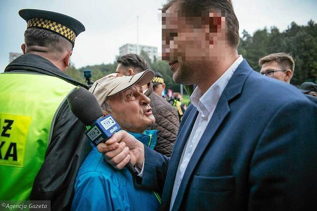 Łukasz S., dziennikarz TVP, z zarzutami za awanturę w pendolino. Grozi mu nawet rok więzienia