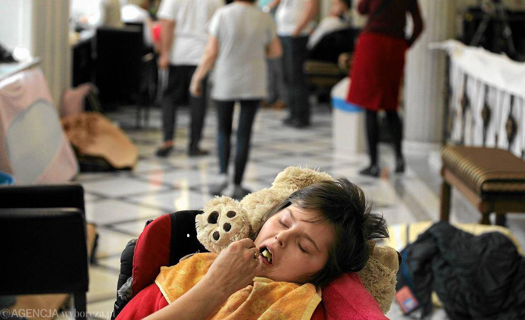Protest opiekunów dorosłych niepełnosprawnych. Marzec 2014