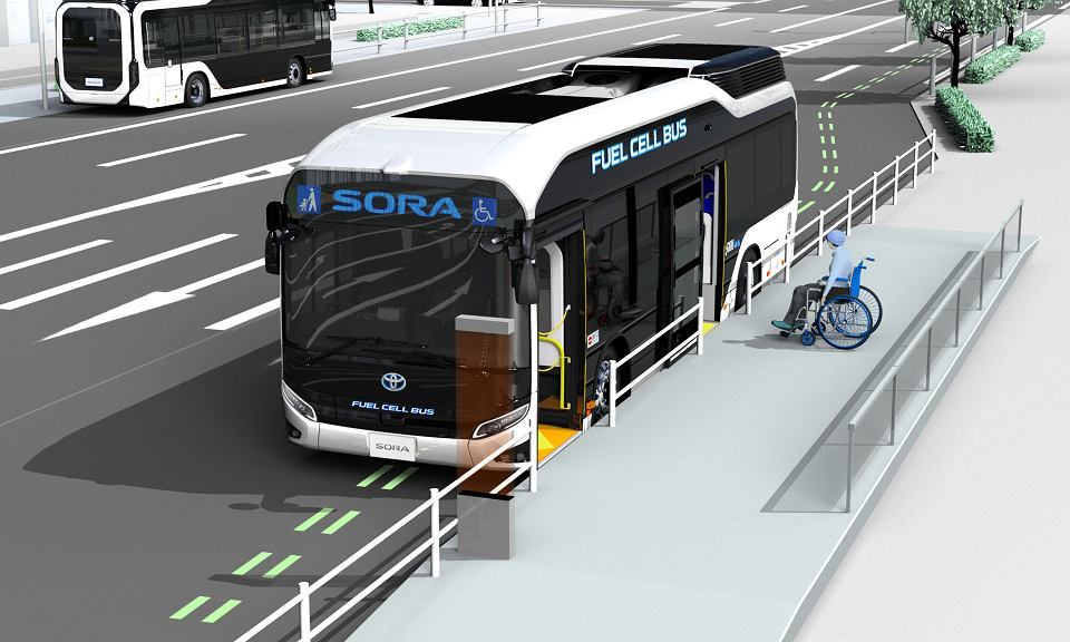 Toyota Sora - autobus na wodór