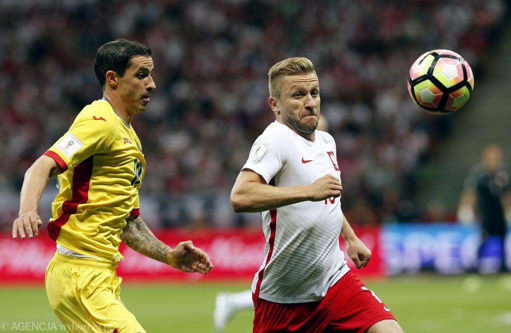 Mecz eliminacji mistrzostw świata : Polska - Rumunia