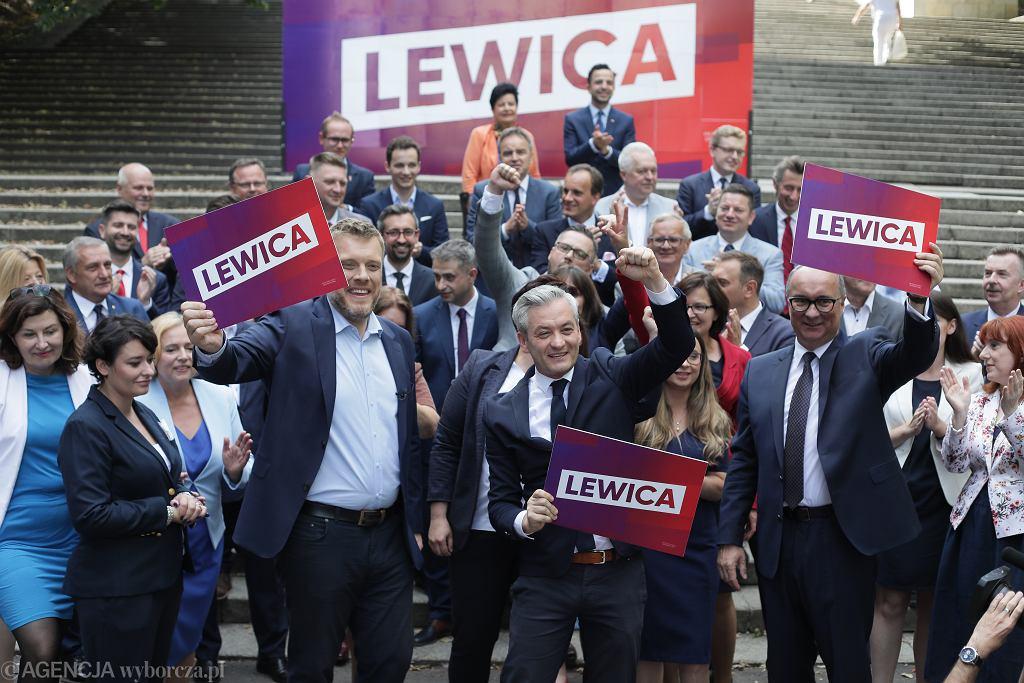 Lewica przedstawia 'jedynki' na listach do Sejmu