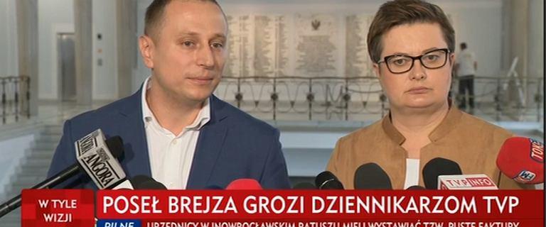 Afera Piebiaka trwa, ale dziennikarz TVP pytał Brejzę o... Inowrocław