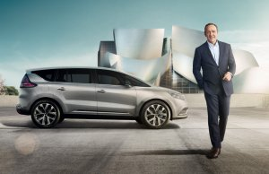 Kevin Spacey i Renault Espace