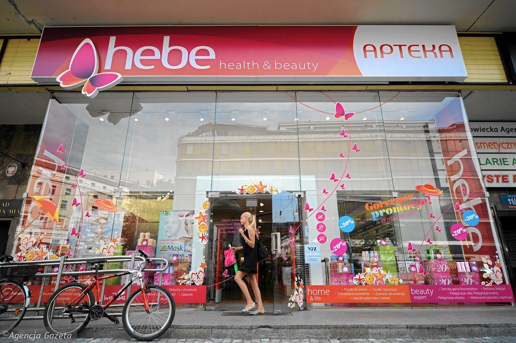 Apteki Hebe zamknięte od czwartku 30 lipca