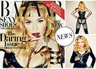 """55-letnia Madonna dla """"Harper's Bazaar"""". Biust, pośladki i szczere wyznania - zbyt wiele?"""