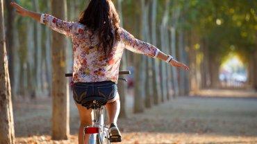 jak schudnąć robiąc trening na rowerze