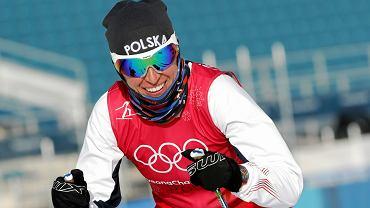 Justyna Kowalczyk podczas treningu