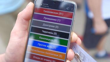 Białystok. Konsulat Generalny Republiki Białoruś, 9 sierpnia początek głosowania w wyborach prezydenckich. Wyniki exit poll z godz. 11