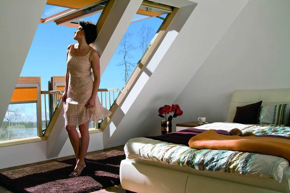 Okno balkonowe Galeria (FAKRO)