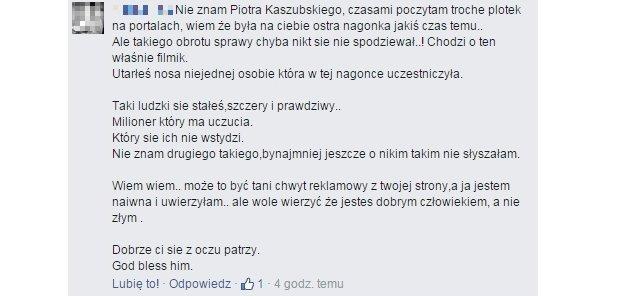 Wypowiedzi fanów Kaszubskiego