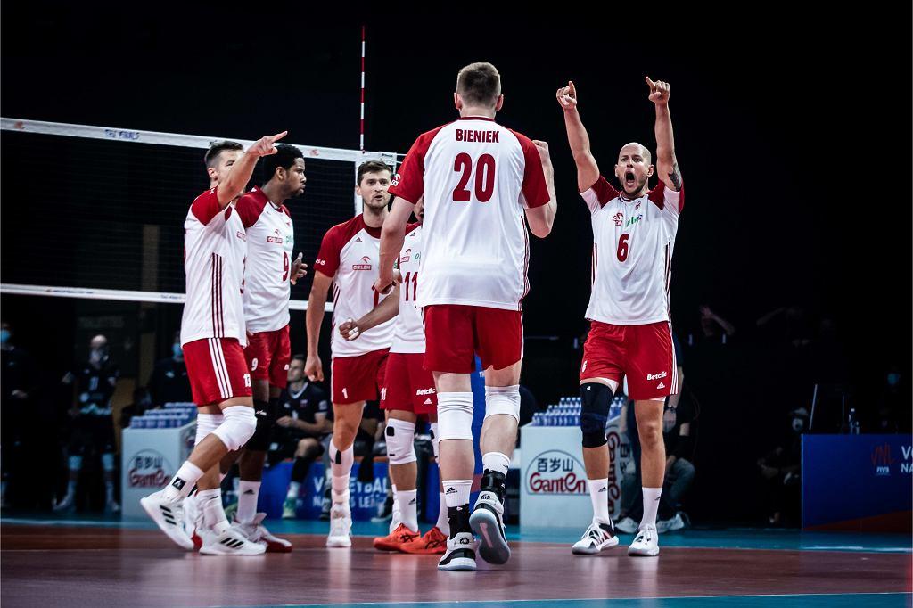 Polscy siatkarze pokonali Słowenię 3:0 i awansowali do finału Ligi Narodów!
