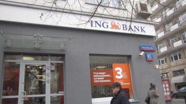 """""""Uwięziona"""" waluta na koncie oszczędnościowym w ING"""