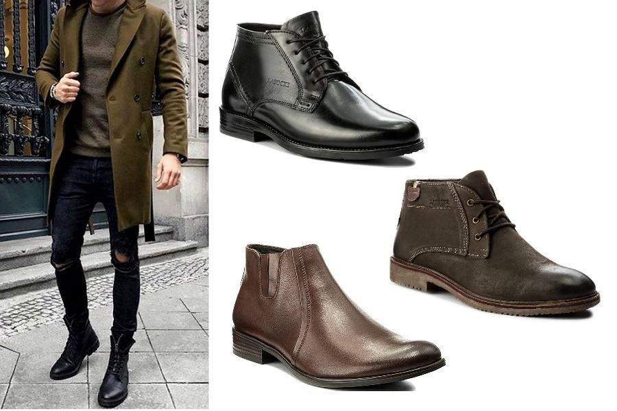 ad58297eb656af Eleganckie, męskie buty na zimę Lasocki