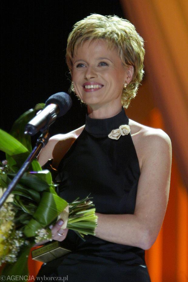 Jolanta Pieńkowska w 2002 na Wręczeniu Wiktorów.