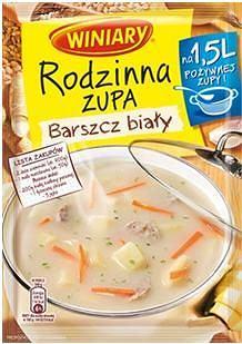 Rodzinna Zupa WINIARY Barszcz biały