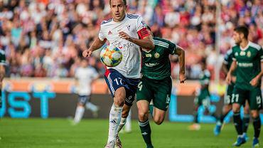 Igor Angulo w meczu Górnik Zabrze - Śląsk Wrocław