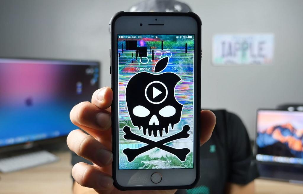 Krótki filmik zawiesza większość iPhone'ów