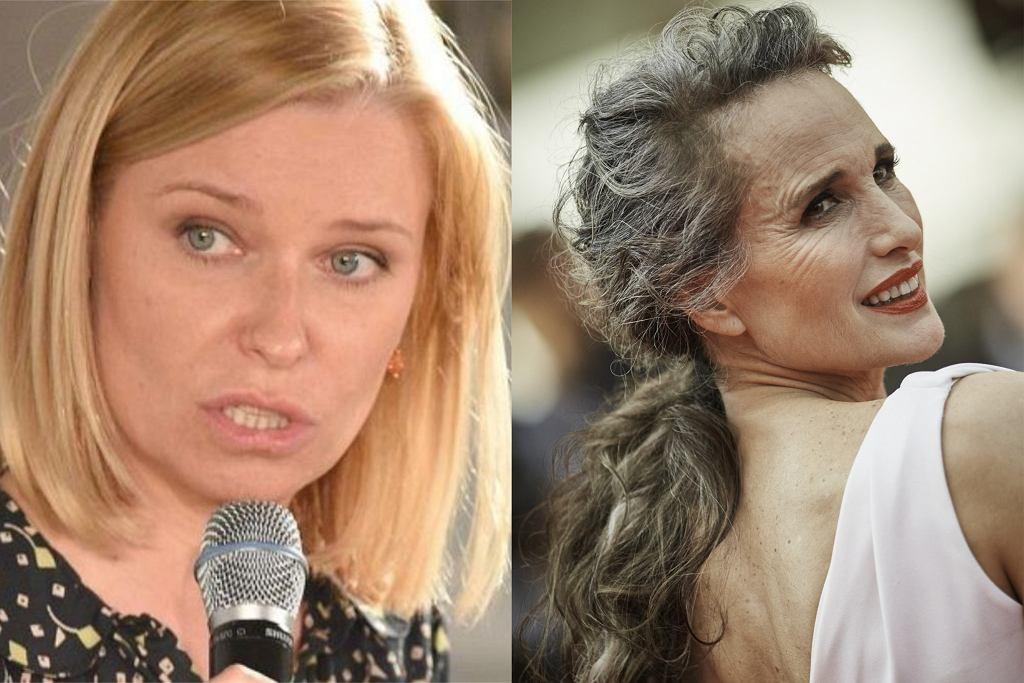 Paulina Młynarska, Andie MacDowell