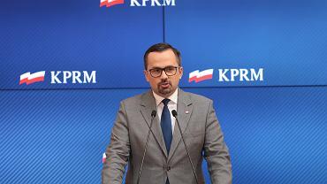 Wiceminister infrastruktury Marcin Horala