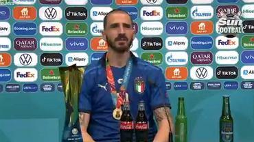 Bonucci po finale Euro 2020