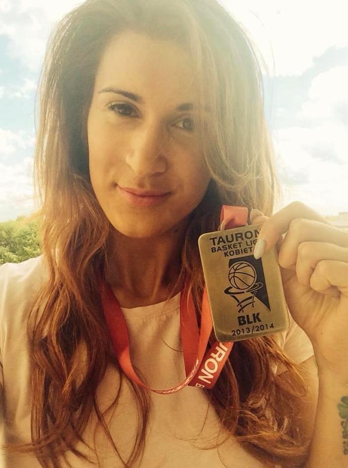 Ewelina Gala z medalem