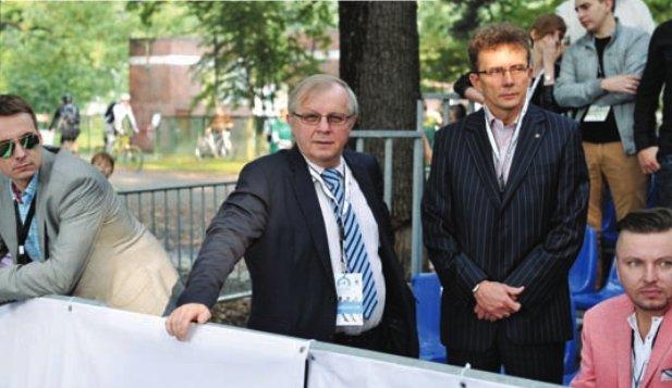 Zbigniew Korzeniowski (z lewej)