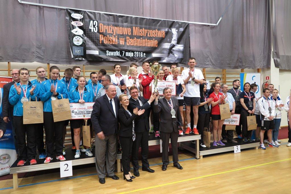 Finał ekstraklasy badmintona
