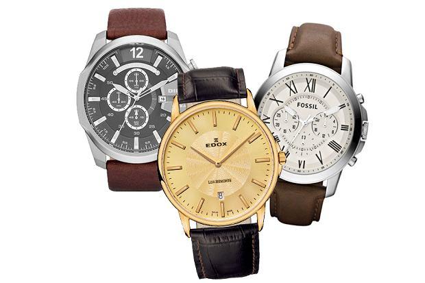 Klasyczne zegarki dla eleganckich mężczyzn