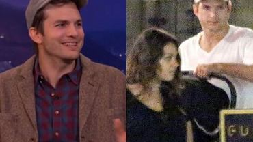 Mila Kunis i Ashton Kutcher z dzieckiem