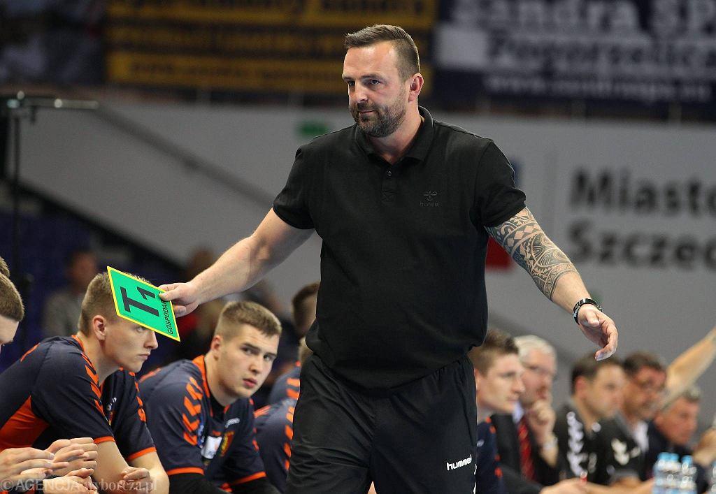 Trener Pogoni Rafał Biały