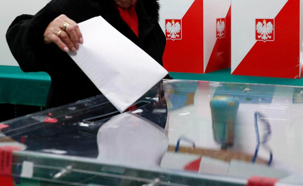 Wybory parlamentarne. Zdjęcie ilustracyjne