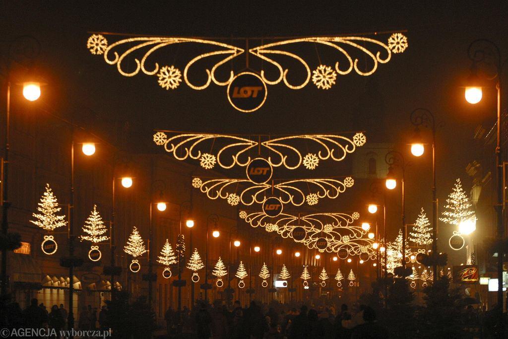 świąteczna Iluminacja W Warszawie Jak Zmieniały Się Ozdoby
