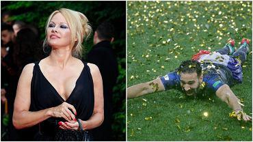 Pamela Anderson i Adil Rami