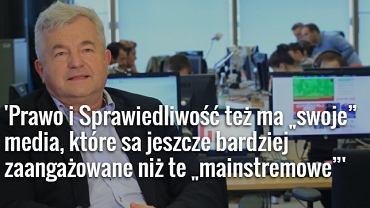 Jarosław Gugała, szef 'Wydarzeń' Polsatu