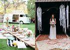 Ogród w stylu boho - girlandy, pufy i nie tylko. Wykorzystaj pomysł na wesele w stylu boho!