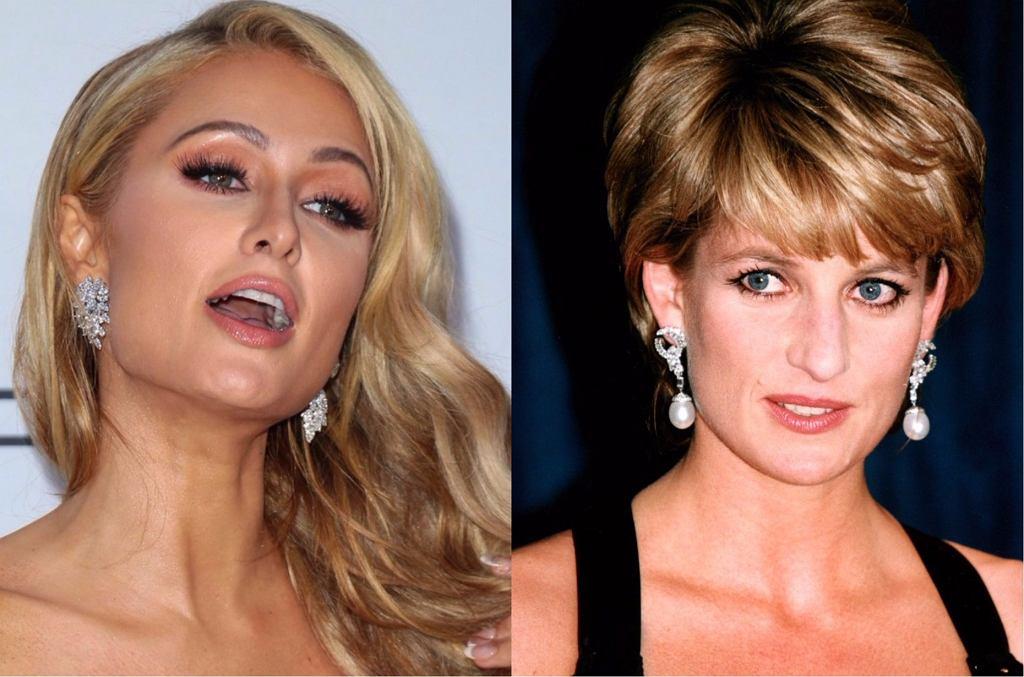 Paris Hilton, księżna Diana