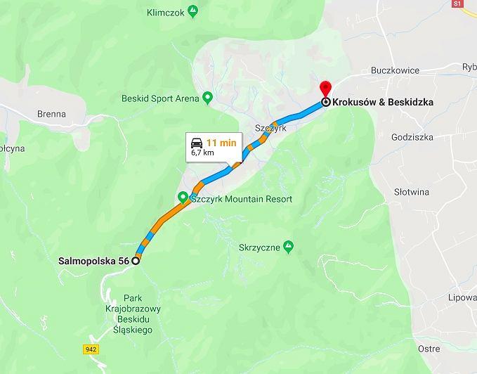 Zakaz będzie obowiązywał na odcinku o długości ok. 6,7 km