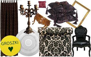barokowe dekoracje, barokowe wyposażenie, styl barokowy, barokowe wnętrza, barok