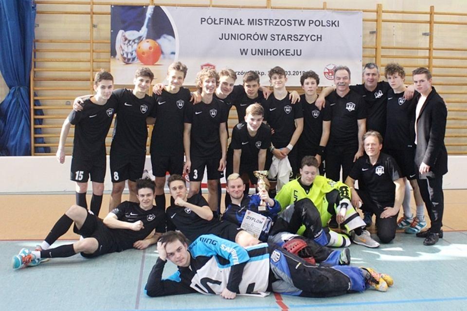 Zespół I LO Floorball Gorzów wystąpi w finałach mistrzostw Polski juniorów starszych w unihokeju