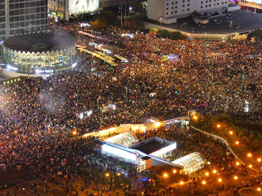 Marta Lempart: Spodziewałam się silnego odzewu, nie spodziewałam się, że skala protestów będzie tak duża (fot: Dariusz Borowicz/ Agencja Gazeta)
