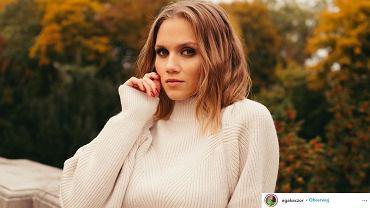 Agnieszka Kaczorowska w botkach z sieciówki. To bardzo modny i niedrogi model