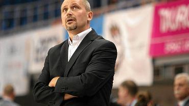 Trener Paweł Turkiewicz