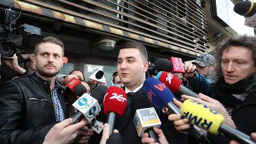 Misiewicz przed komisja partyjną PiS