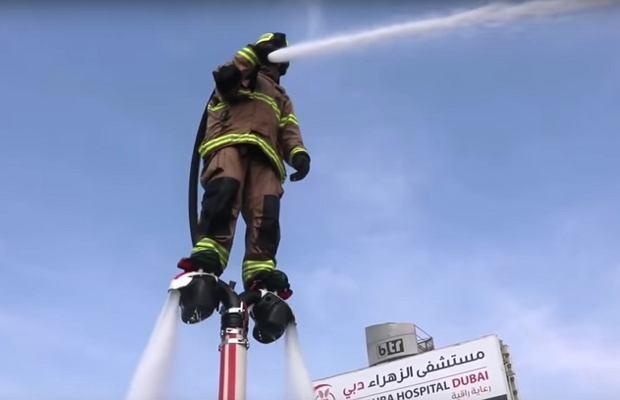 Strażak z Dubaju
