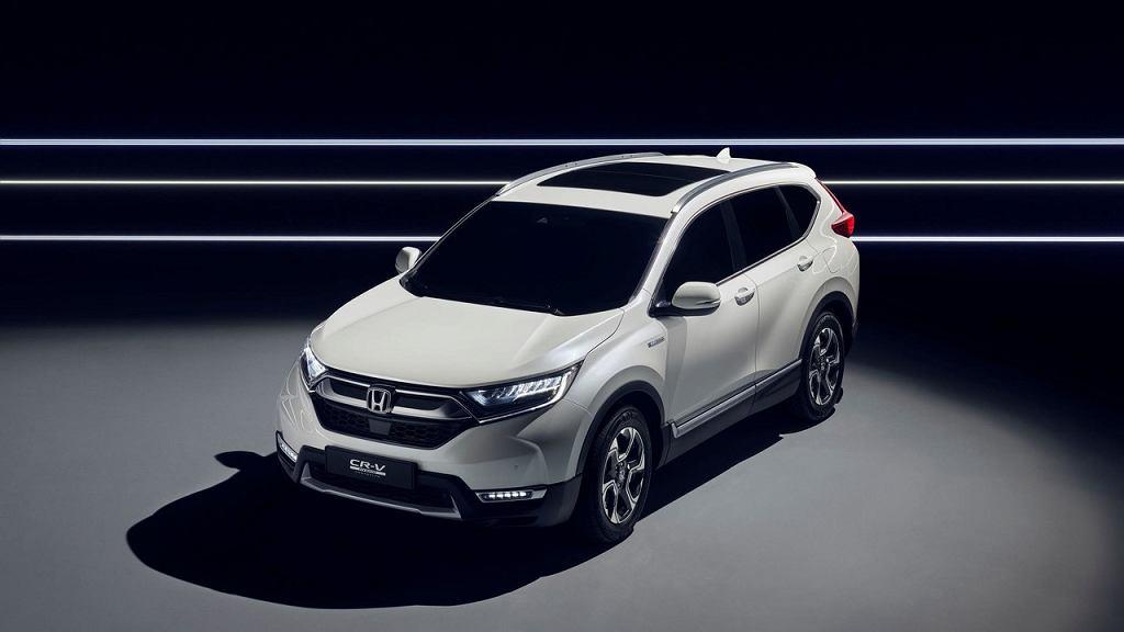 Honda CR-V 2017 Hybrid Prototype